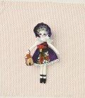 人形用ドレスキット 文化ドール(紫)
