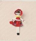 人形用ドレスキット 文化ドール(赤)