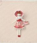 人形用ドレスキット 文化ドール(ピンク)
